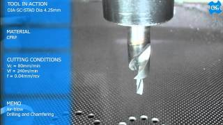 Carbide Tools for Carbon Fiber Reinforced Material a.k.a. CFRP