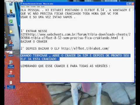 TIBIA CRAKER ELFBOT PARA VERSAO 8.54