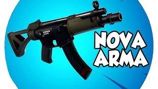 💀FORTNITE MOBILE #32 - NOVA ARMA MUITO ROUBADA!! BORA TESTAR!!