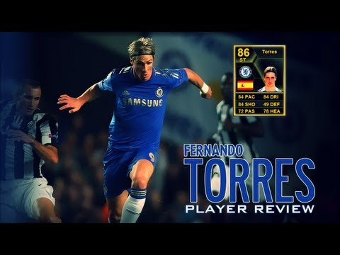 FIFA 13 Ultimate Team - Inform Torres Player Review and In Game Stats - Is He Worth It?
