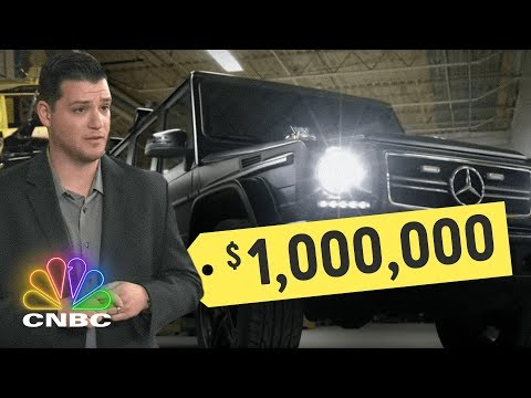 $1 million dollar bullet proof Mercedes G-Wagon