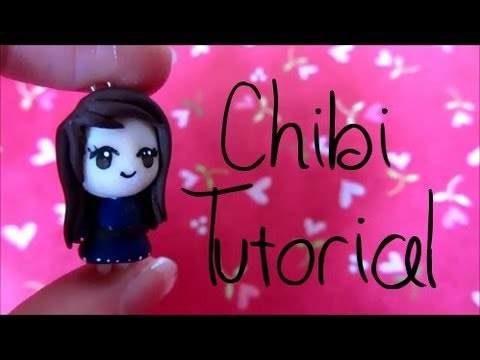 Chibi Tutorial: Polymer Clay Charm :)