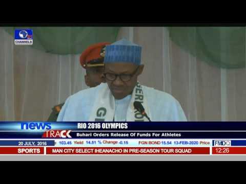 Rio 2016 Olympics: President Buhari Receives Team Nigeria