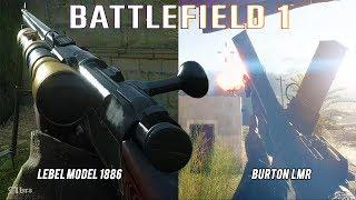 Battlefield 1 Lebel Model 1886 / Burton LMR