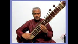 'Chaudhvin Ka Chand' on sitar- Sanjeeb Sircar. Popular Old Hindi Film Song with improvisations.