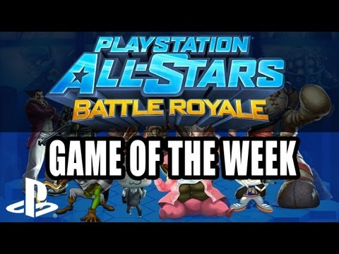 PlayStation All-Stars Battle Royale - Extra Game Of The Week