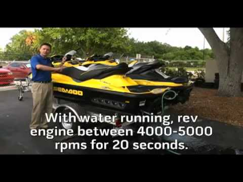 GUIDE How To De Winterize A Jet Ski Videos