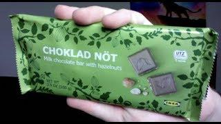 IKEA MILK CHOCOLATE BAR WITH HAZELNUTS