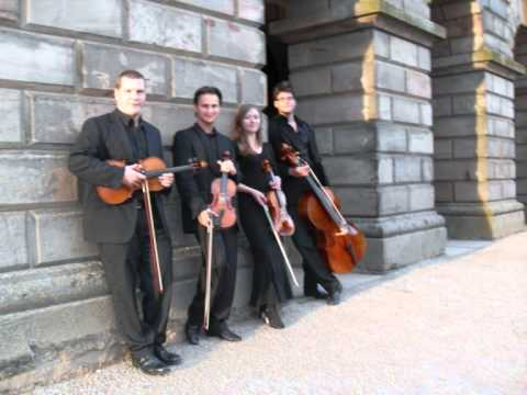 String quartet cornwall wedding