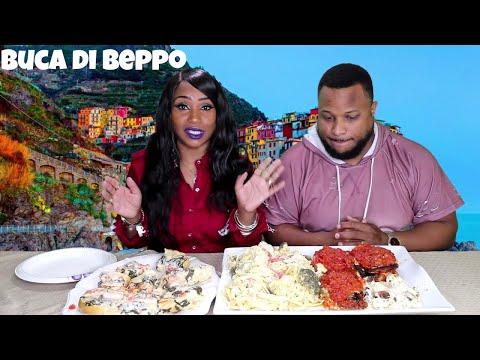 Buca di Beppo Italian Mukbang thumbnail