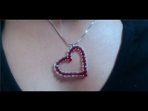 DIY Crystal Heart Pendant (quick and easy)