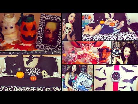 DIY Halloween Room Decor & Fall Organization!