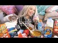 what I eat on my period (mukbang) | junk food eating show MP3