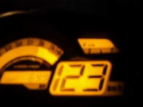 Yamaha FZ16 Top speed 124km/h