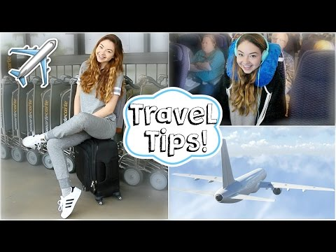 Airplane/Travel Tips + Easy Makeup & Outfit!