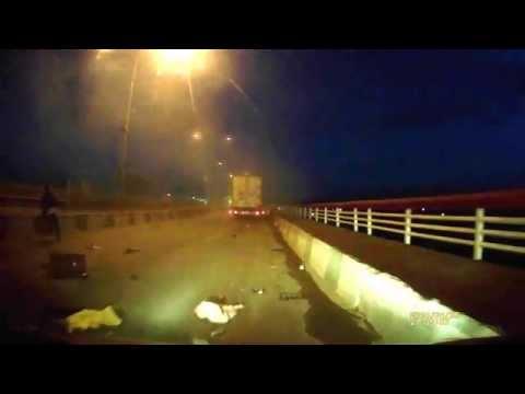 Набережные Челны, авария на плотине в сторону города. 26 апреля.