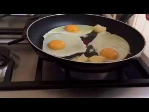 Małoinwazyjna Metoda Na Jajka Sadzone - Surowy Szef