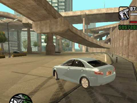 GTA San Andreas Arab Drifting With Handling Line تفحيط لعبة GTA
