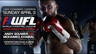"Official World Fighting League ""Where Heroes Meet Legends"" Promo Sunday April 3rd 2016"