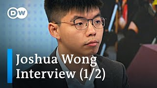 'Hong Kong is part of China' Joshua Wong Interview (1/2)