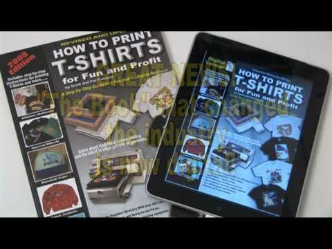 How To Print T-Shirts eBook Version
