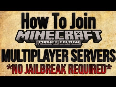 Minecraft PE: How To Join Realms Multiplayer Servers [Pocket Edition] Tutorial [No Jailbreak]