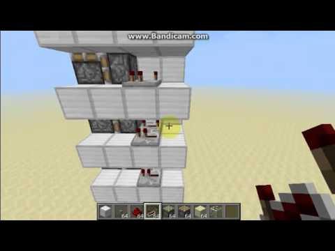 Скачать видео как сделать лифт в майнкрафте 101