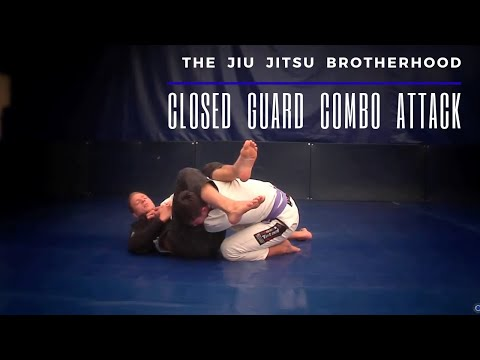 Jiu Jitsu Closed Guard -  Three Attack Combination | Jiu-Jitsu Brotherhood