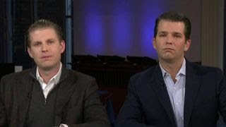 Trump's sons hit the campaign trail in New Hampshire