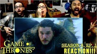 "GAME OF THRONES Season 8 Episode 1 ""Winterfell"" - REACTION!!!"