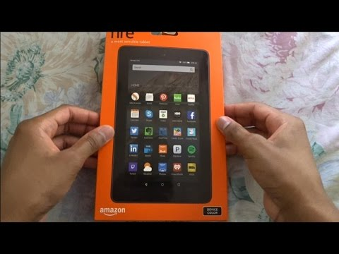 Amazon Fire 7 Tablet Unboxing ($50 Tablet)