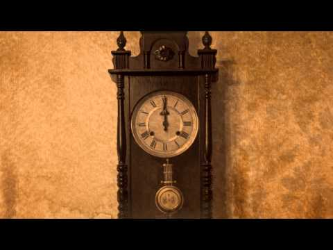OLD Grandfather's Clock SLOW with sound version 3
