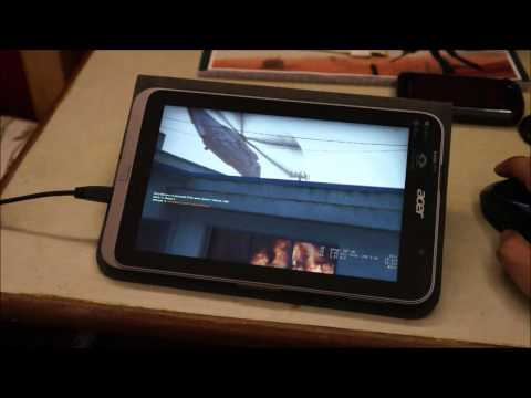 Left 4 dead 2 on Windows 8 tablet (Acer Iconia W4)