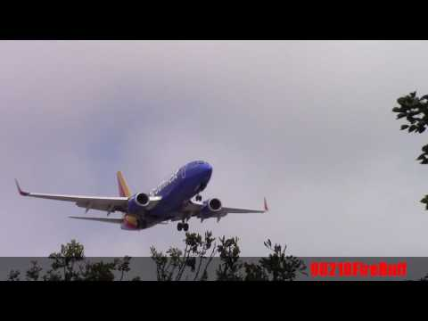 Southwest Airlines Making a Final Approach at LAX