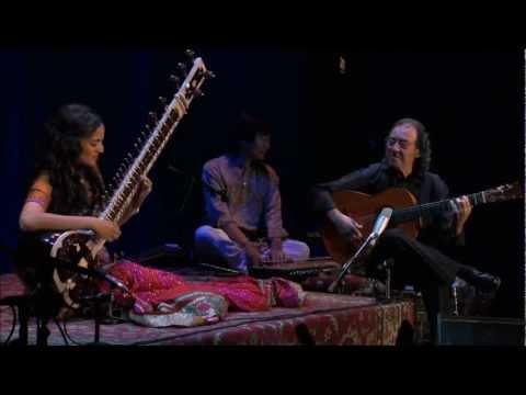 Anoushka Shankar sitar and guitar duet