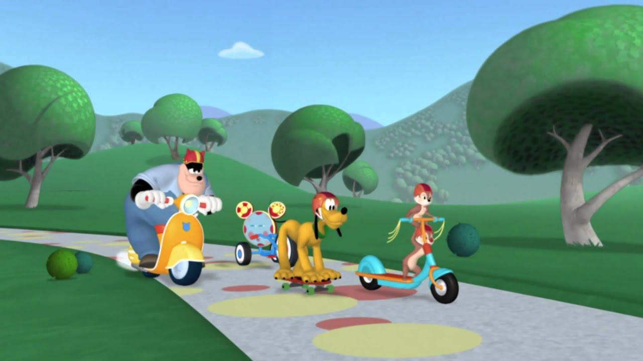 La casa de mickey mouse competencia de rally youtube - La casa de la golosina ...