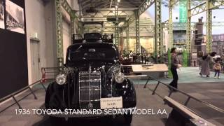 Japan: Toyota Museum: 1936 Toyoda Standard Sedan Model AA - 16Mar16