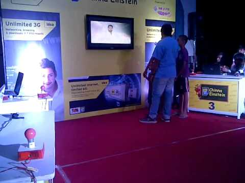 Idea 3G Chinna Einstein Activity, Powered by Radio Mirchi - Hyderabad - Video 1
