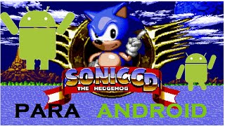 Sonic CD para ANDROID   [APK~SD]