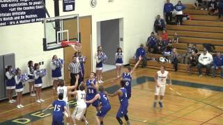 Air Academy vs Pueblo Central boys playoff basketball highlights