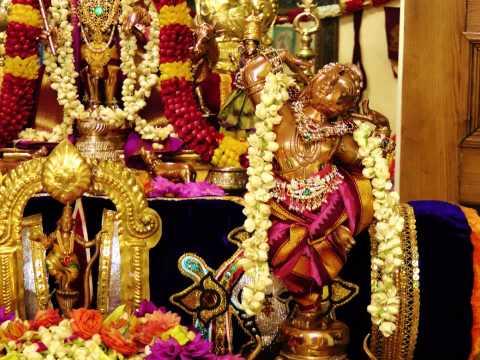 Sanskrit Hymn (1008 Divine Names Of Sri Krishna) - sri Krishna Sahasranamam (maha Rishi Parasara) video