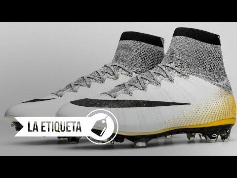 ¡Cristiano Ronaldo estrena sus nuevos botines de 324k Gold!