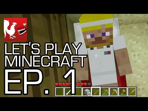 Let's Play Minecraft with Geoff, Jack, Michael, Gavin and Ray