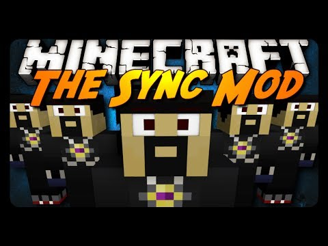 Minecraft: CLONES & TELEPORTING! (Sync Mod Review)