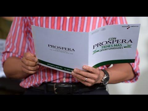 Presentación del Programa PROSPERA