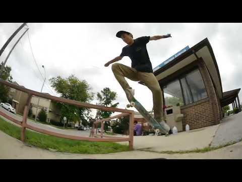Chicago Skateboarding Slams, Bails And Funny Falls While Filming for (708) Volume 2