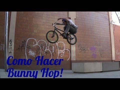 Como hacer Bunny Hop bmx | Como ganar altura de Bunny hop