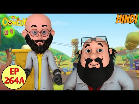 Motu Patlu Cartoon in Hindi | Kids Cartoons | The Scientist Motu Patlu | Funny Cartoon Video thumbnail