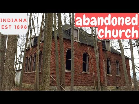 Urban Exploration: Abandoned Church Indiana