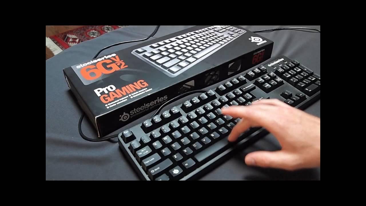 Steelseries 6gv2 Gaming Keyboard Steelseries 6gv2 Keyboard